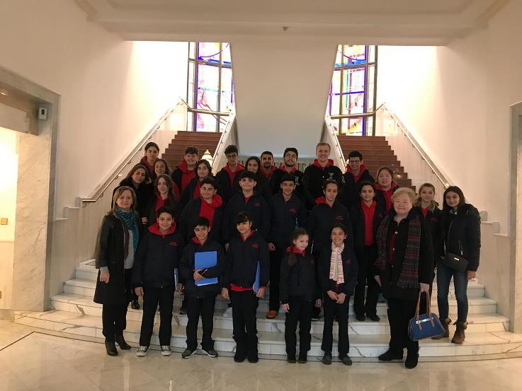 CHS Student Council members visited Royal Court of King Abdullah II